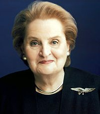 Madeline Albright Creates A Personal Style