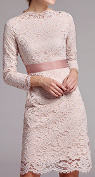 Would it be OK to wear a light apricot color dress in October?