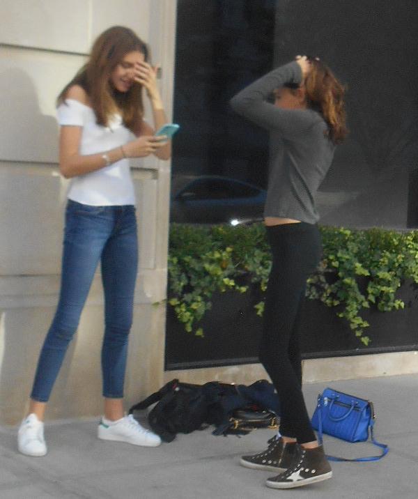 New York Women Display Their Street Style