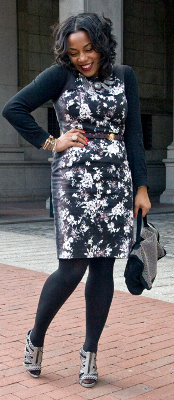 How do you style floral prints for fall & winter?