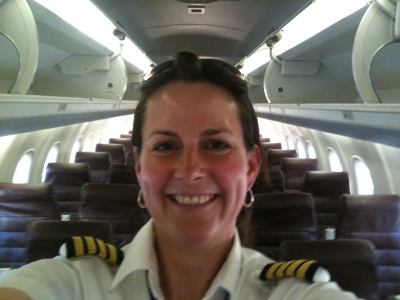 Jenny Stiffler, First Officer United Airlines
