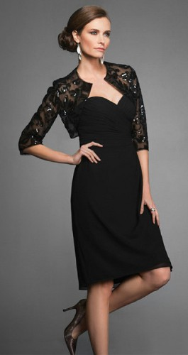 Can the Mother of the Bride wear black?