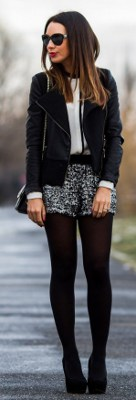 Are black tights appropriate to wear at a dinner party?