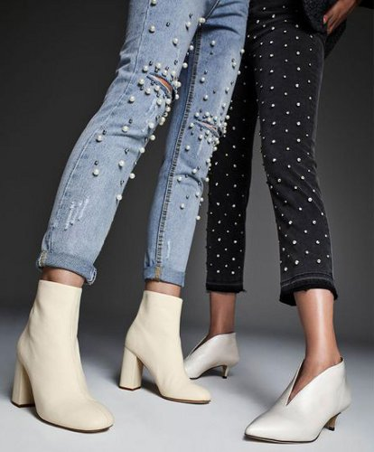How can one style white shoes this fall?