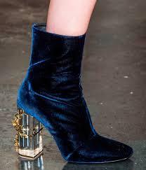 The Velvet Shoe Trend 2015