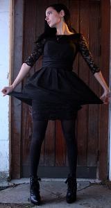 Can I Wear A Black Cocktail Dress With Black Hosiery Or Off Black Hosiery To A Wedding 4fashionadvice