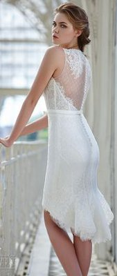 What style wedding dress should a 45 year old wear?