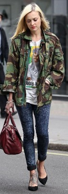 Is camouflage print fashion in style (2016)?