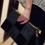 Is a leather clutch appropriate for an evening bag?