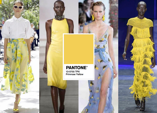Yellow Hot Color Trend 2017