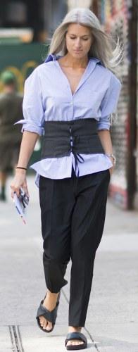 The corset trend