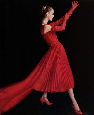 Christian Dior on the Color Red