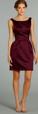 "Can I wear taupe color, ""pearlized"" shoes with a burgundy dress?"