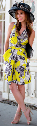 Is a dress or pants more stylish for the Kentucky Derby?