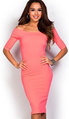 dress_off-shoulder-pink