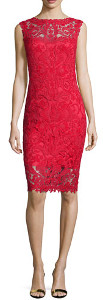 What color shoes can I wear with a red dress to a December wedding?