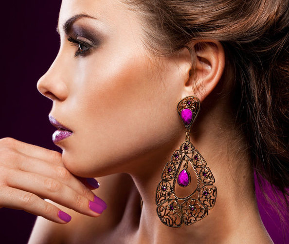 Glam Up Your look with Chandelier Earrings