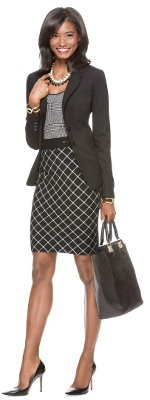 What can I wear to give an address at a business conference in NYC?