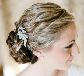 Can I wear a hair ornament to my daughter's wedding?