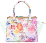 Is a plastic handbag with gold / brass hardware appropriate with jeans & shorts?