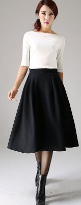 What hemline length is in style for holiday parties?