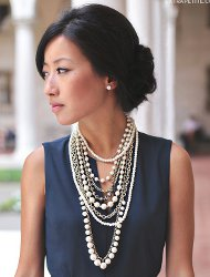 What earrings are best with statement necklaces?