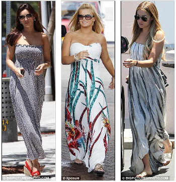 Maxi Dresses for Athletic Body Types