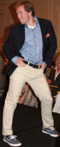 Can I wear khaki pleated Dockers to a casual rehearsal dinner?