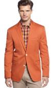 Can I wear a birght orange sports jacket in the fall?