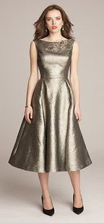 What can I wear with a metallic dress for NYE?