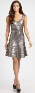 Can a wedding guest wear a metallic dress?