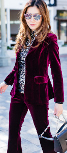 Can I wear velvet to a movie premier in March?