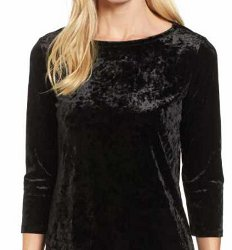 What type of blouse can I wear with a black leather pleated maxi skirt?