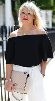 Is the bare shoulder look appropriate for all women?
