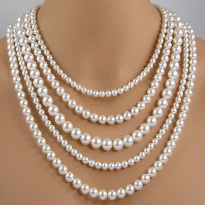 How should you clean pearls?