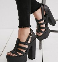 Are platform style shoes in or out of fashion?
