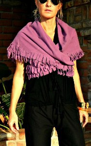 Scarf Covering Shoulders