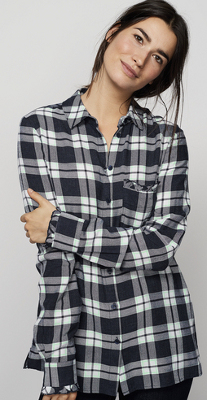 Where can I find shirts that fit my tall non muscular frame?