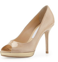 What can I wear with sand color pumps?