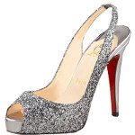 What kind of shoes do I wear with a green evening gown?