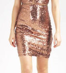 What color shoes & jewelry can I wear with a bronze tone dress?