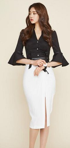 Can you wear the big sleeve trend in the office?