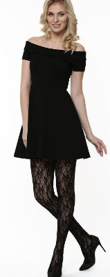Would it be appropriate to wear stockings for an evening wedding?