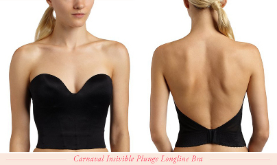 What style bra works with backless fashions?