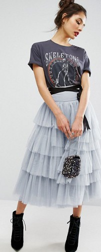 Can you wear a tulle skirt in the daytime?