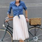 tulle skirt, Can you wear a tulle skirt in the daytime, feminine look, tulle, daytime look