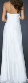 Can I wear a long white dress for my 50th wedding anniversary celebration?